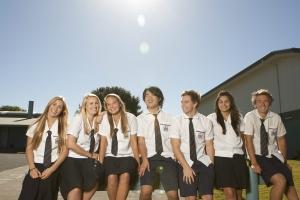 Australien High School uniform venner